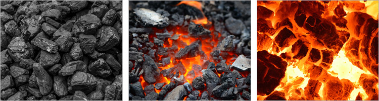 coal, coke and anthracite