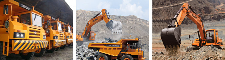 earth moving and mining equipment