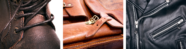 fashion and lifestyle leather