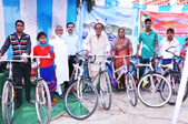 Stryder bicycles gifted to underprivileged communities